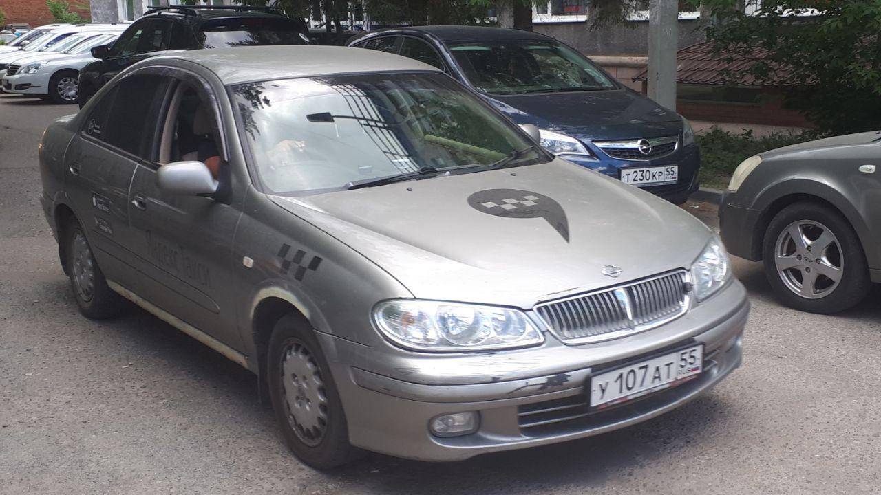 Nissan Bluebird Sylphy 2000, серый, У107АТ55