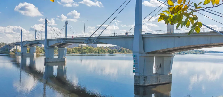 Кимры, мост через Волгу